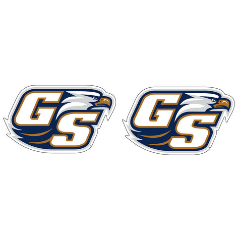 "Georgia Southern Eagles GSU Alternate Logo Decal Sticker 2"" 2 Pack"