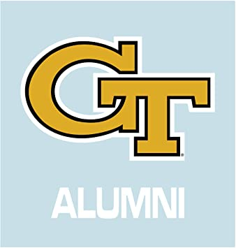 Georgia Tech Yellow Jackets GT Alumni Decal Sticker 6""