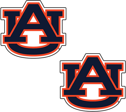"AU 2"" AU Logo 2 Pack Decal"