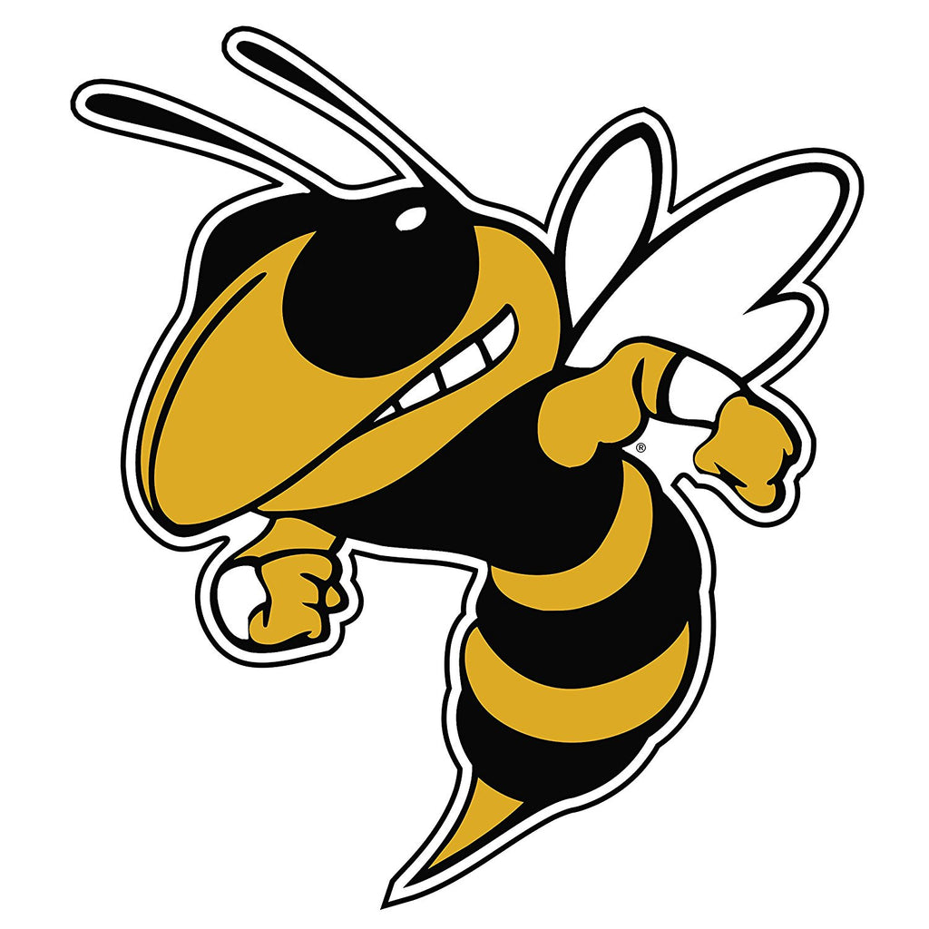 Georgia Tech Yellow Jackets GT Buzz Logo Decal Sticker 4""