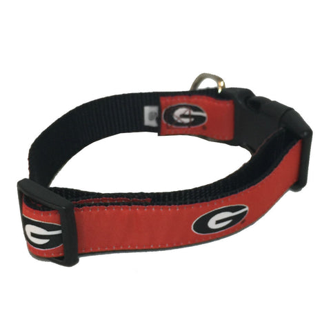 Georgia Bulldogs UGA Super G Red Dog Collar