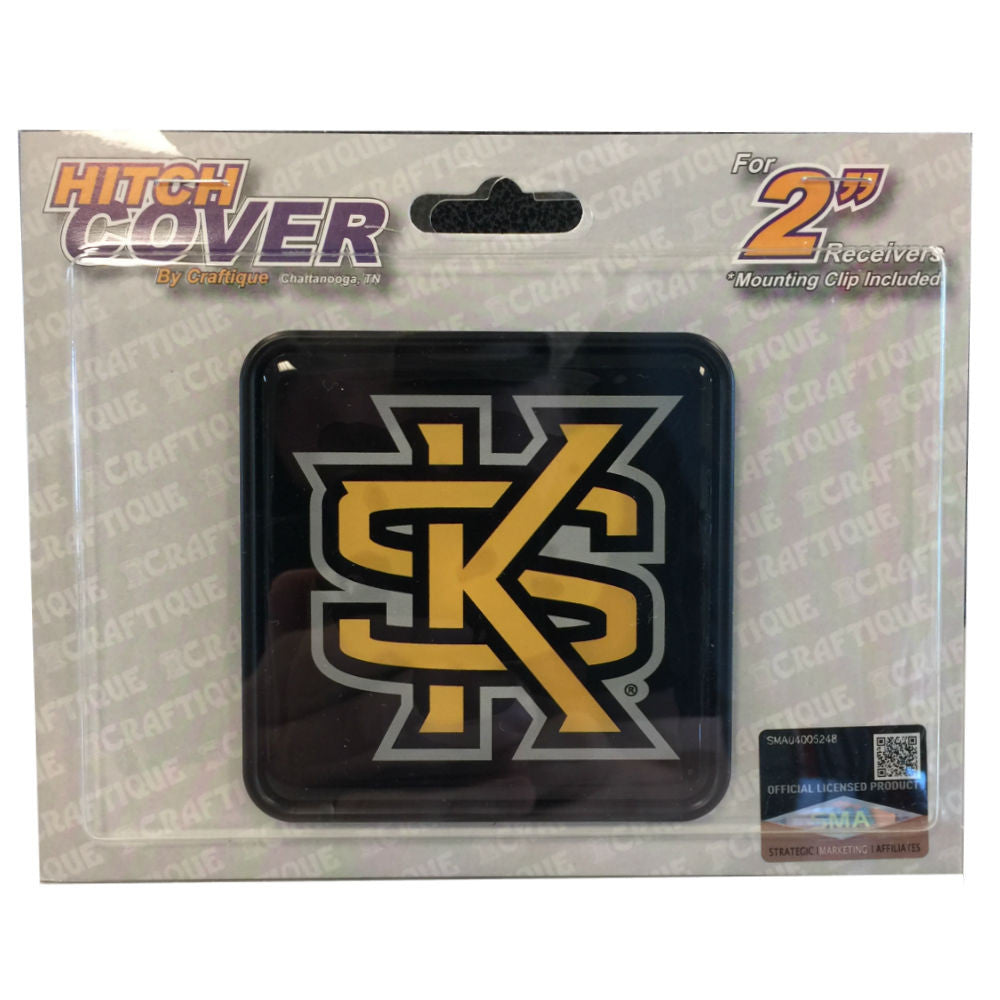 Kennesaw State Owls KSU Square Hitch Cover