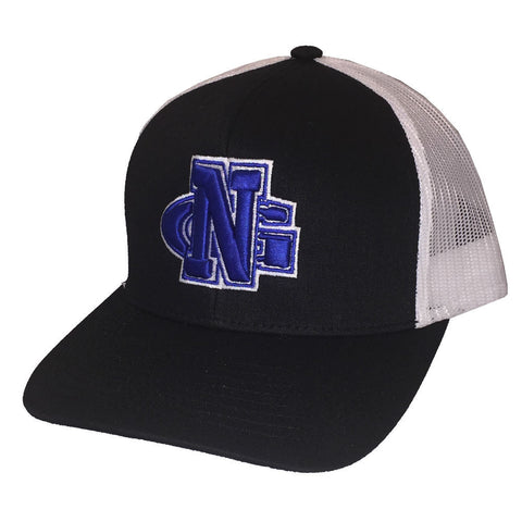 North Georgia Nighthawks UNG Trucker Mesh Black/White Cap Hat