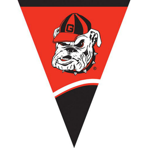University of Georgia Bulldogs UGA Plastic Flag Banners