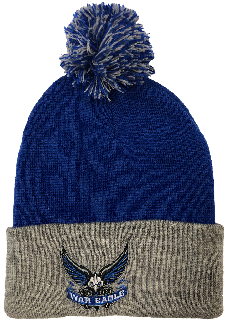 South Forsyth School Colors embroidered Beanie