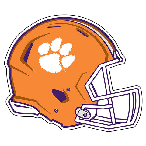 Clemson Tigers Football Helmet Decal Sticker 3""