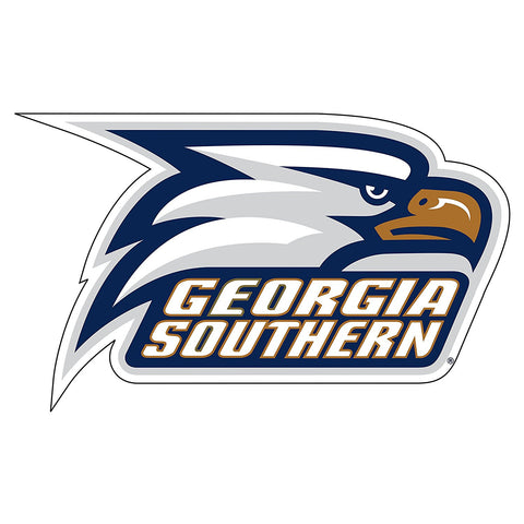Georgia Southern Eagles GSU Head Decal 12""