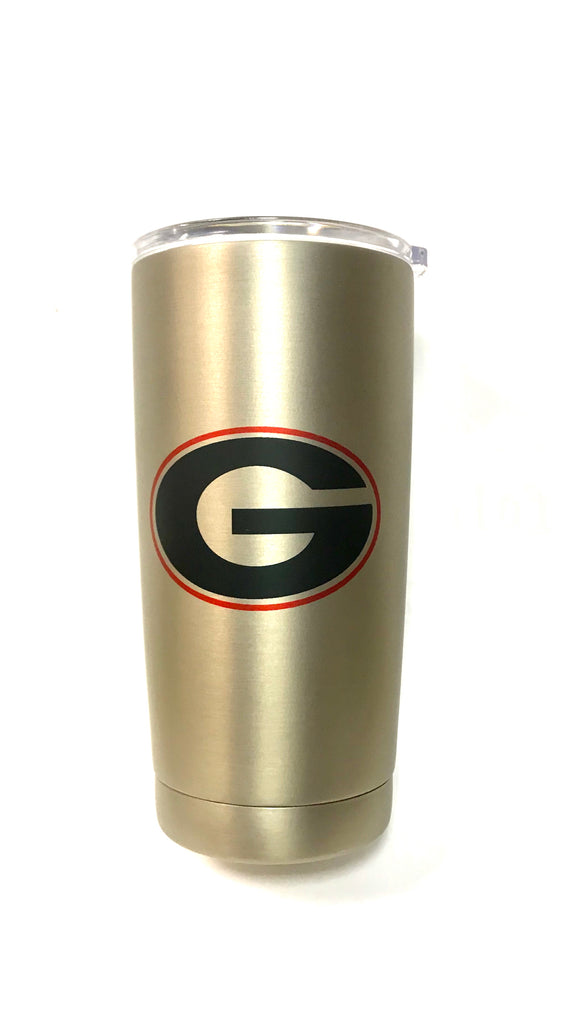 Double Stainless Steel 20 OZ Collegiate Tumblers
