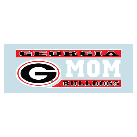 "Georgia Bulldogs 6"" UGA Mom Decal"