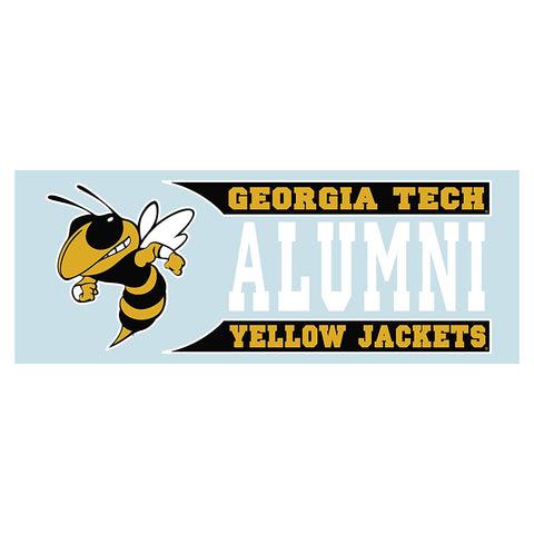 Georgia Tech Yellow Jackets Alumni Decal Sticker 6""