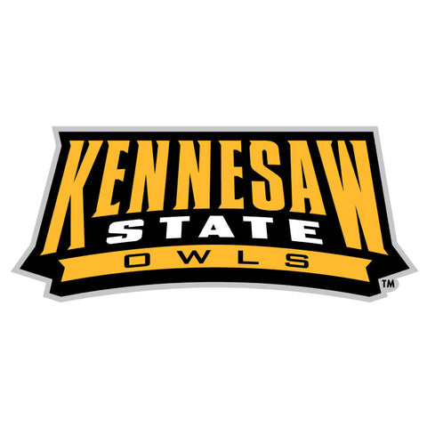 Kennesaw State Owls KSU Wordmark Logo Decal Sticker 3""