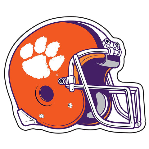 Clemson Tigers Football Helmet Decal Sticker 6""