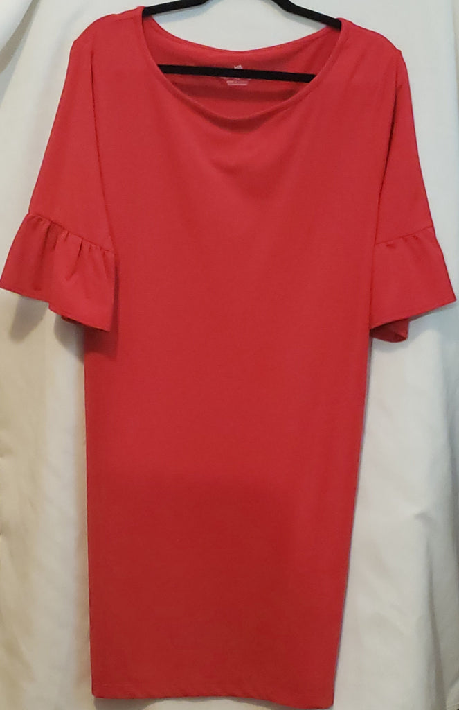 Ladies Southern Tide Varsity Red Dress
