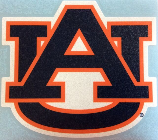 Auburn Tigers AU Logo Decal Sticker 4""