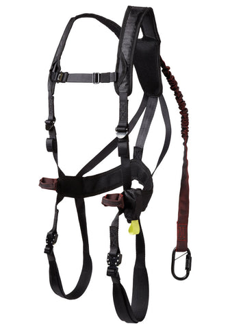 G-Tac Air Safety Harness (Black), Harness - Go Gorilla Gear