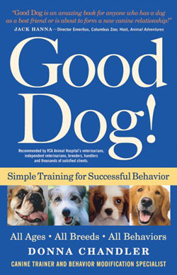 "Dog Training Book ""e;Good Dog!"" by Donna Chandler"