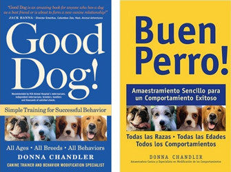 Dog Training Book (English or Español) by Donna Chandler