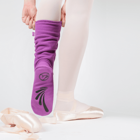 Russian Pointe warm up fleece socks - Just Ballet