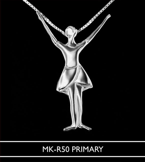 MikelArt RAD white gold pendants Primary to Advanced 2