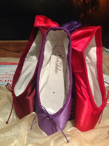 Grishko 2007 Burgundy pointe shoe 5XXX
