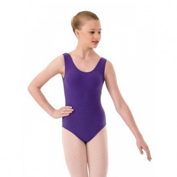 ISTD Purple tank leotard