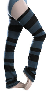Intermezzo striped legwarmer