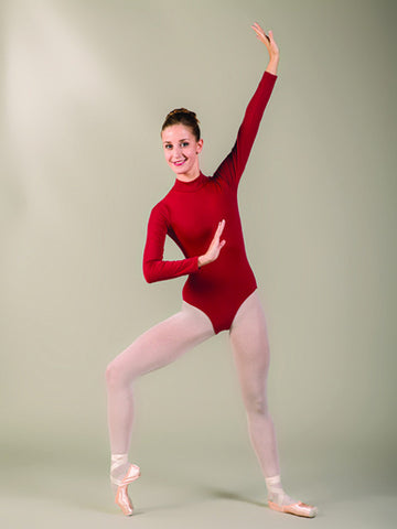 Ballet Rosa Elaine turtleneck leotard