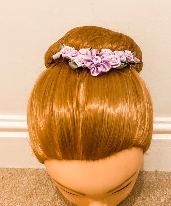Floral Buns - Bun Garland with Pin Loops