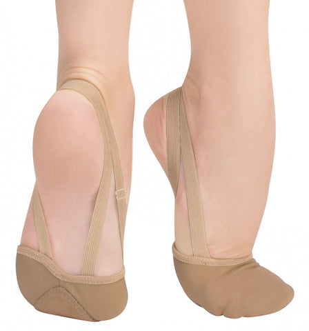 Bodywrappers Canvas Half Shoe - Just Ballet
