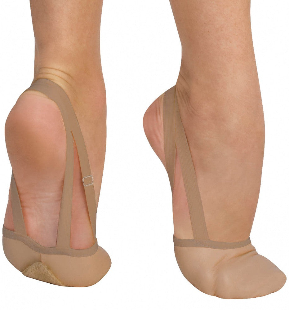 Bodywrappers Leather Half Shoe - Just Ballet
