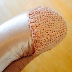 Sansha crocheted toe caps