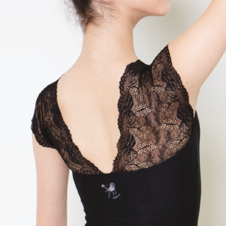 Degas lace top leotard 958