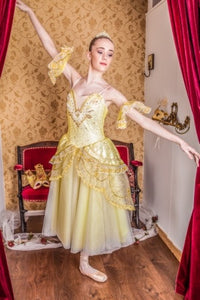 Just Ballet Gold dress - Just Ballet