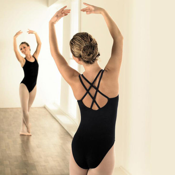 Capezio cross back leotard - Just Ballet
