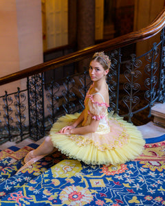 Just Ballet Golden Aurora professional tutu - Hire only