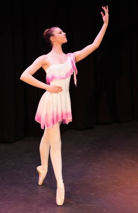 Just Ballet asymmetric airbrushed dress - Just Ballet