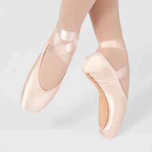 Russian Pointe Encore U cut pointe shoe - Just Ballet