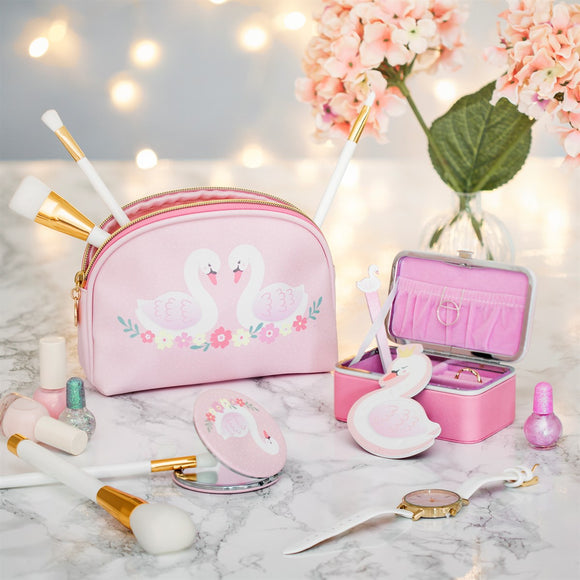 Sass & Belle - Freya swan cosmetic bag