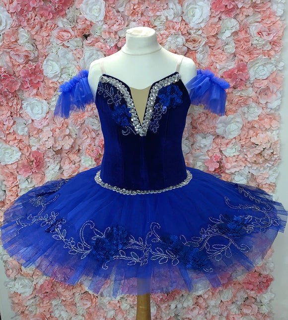 Medora Royal Blue children's tutu 9-11yrs