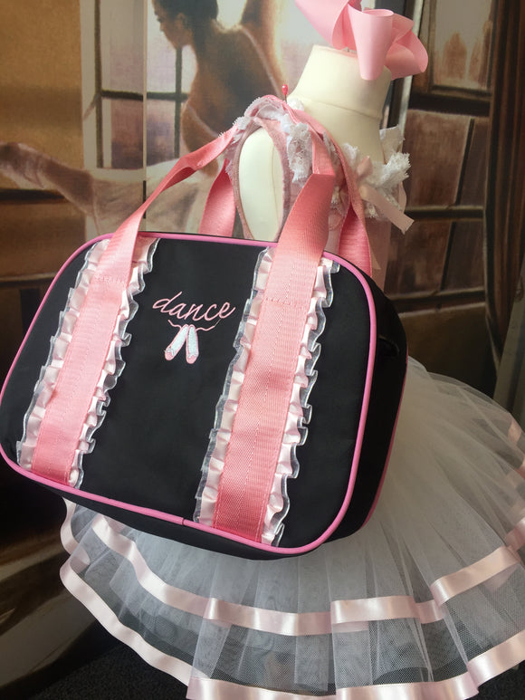 Just Ballet ribbon trim ballet bag