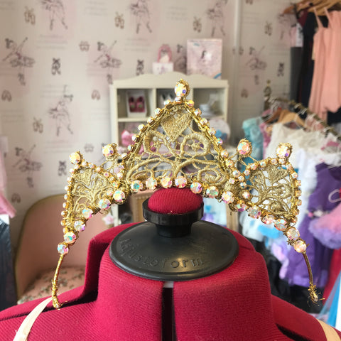 Gamzatti Gold Head Piece Tiara for Hire
