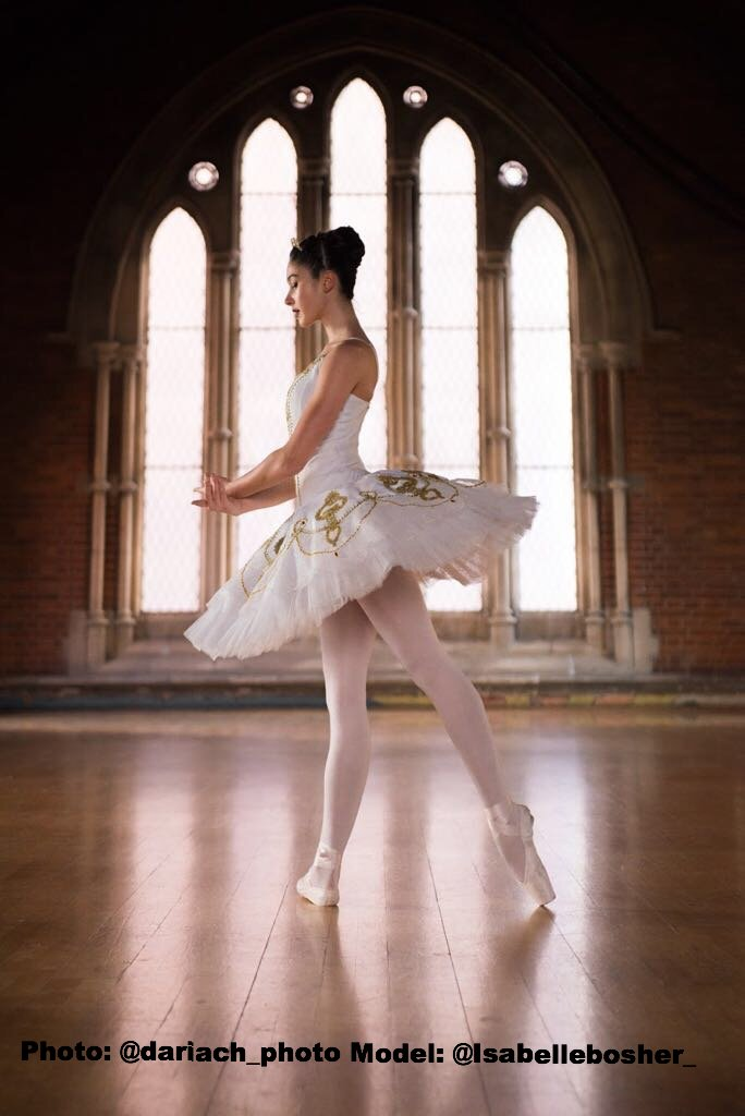 Just Ballet White & Gold tutu