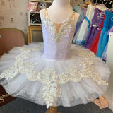 Just Ballet white Crystal tutu 5-7yrs