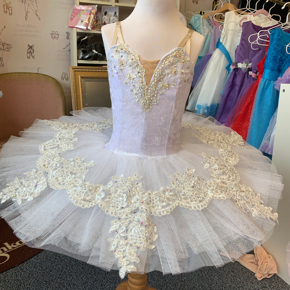 Just Ballet white Crystal tutu 5-7yrs HIRE ONLY
