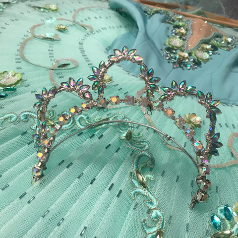 Breadcrumb Fairy Turquoise Head Piece Tiara for Hire