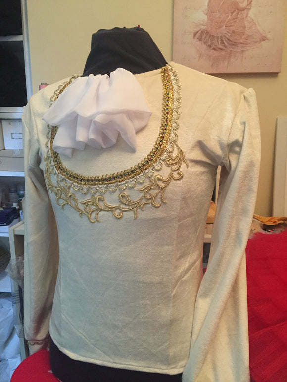 Just Ballet Prince Charming tunic - Hire only