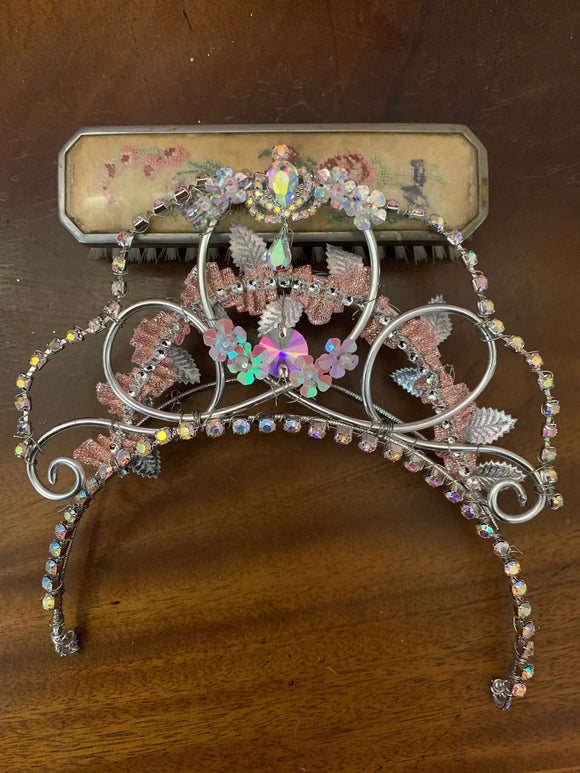 Floral Sugar Plum Tiara - Hire Only