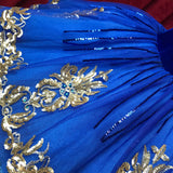 Royal Blue children's tutu