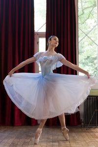 Ombre Cinderella blue romantic tutu dress - Hire only