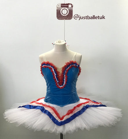 Flames of Paris Tutu - Hire only